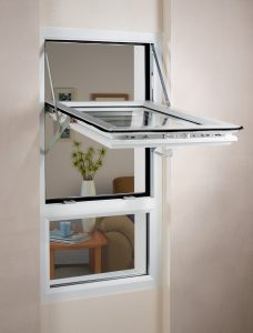 fully reversible window